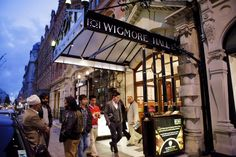Outside Wigmore Hall