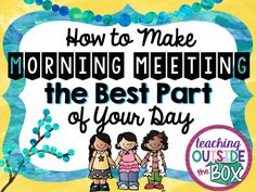 In the regular ed classroom, Morning Meeting was always my very FAVORITE part of the day, and most of my students shared this sentiment. During Morning Meeting, I connected with my students AND they connected with each other on a personal level more than any other time of the day. Not only did I feel …