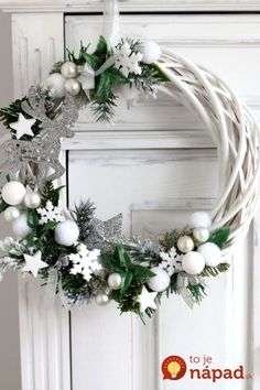 68 Amazing Holiday Wreaths for your Front Door - Happily Ever After, Etc. - Diana - 68 Amazing Holiday Wreaths for your Front Door - Happily Ever After, Etc. 68 Amazing Holiday Wreaths for your Front Door - Happily Ever After, Etc. Christmas Wreaths For Front Door, Holiday Wreaths, Holiday Crafts, Winter Wreaths, Spring Wreaths, Summer Wreath, Summer Crafts, Holiday Decor, Christmas Time