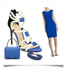 Designer Clothes, Shoes & Bags for Women Nautical Looks, Alexandre Birman, Anya Hindmarch, Sailor, Swarovski, Shoe Bag, Polyvore, Accessories, Shopping