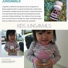 She will ask her mother to feed her with Jungamals everyday! Children, Kids, Minerals, Vitamins, Berries, Nutrition, Wellness, Pure Products, Healthy