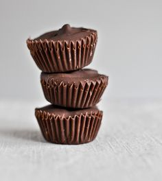 Chocolate Chip Cookie Dough Peanut Butter Cups. . . . what else is there to say? I have to try these.