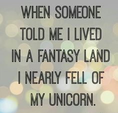 For people who love Unicorns