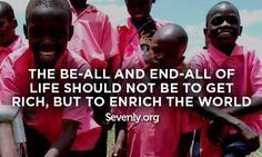 Enrich the World.