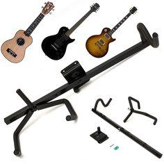 60cm Iron+EVA Electric Guitar Wall Hanger Horizontal Acoustic Guitarra Holder Bass Stand Rack Hook Guitar Parts & Accessories #Affiliate