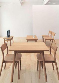 Muji furniture concept #5 Muji Furniture, Fine Furniture, Table Furniture, Furniture Design, Furniture Inspiration, Interior Inspiration, Muji Home, Muji Style, Compact Living