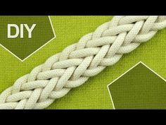 How to Make a 7-Strand Double Braid - YouTube