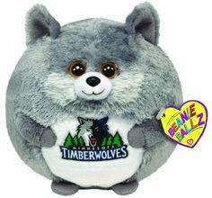 Ty Beanie Ballz Minnesota Timberwolves – NBA Ballz