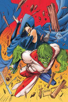 Titans(2008-2011) #5 cover by Joe Benitez