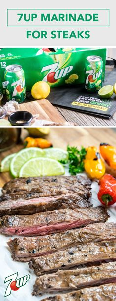 Ready for a spring grilling tip that will take center stage this season? Check out this recipe for 7UP Marinade for Steak! Thanks to the fresh citrus flavors, 7UP® lends its greatness to this unique dinnertime dish. If you're entertaining this season, make sure to pick up everything you need to try this grilling trick at Dollar General!