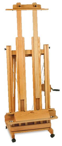 Diy H Frame Easel Woodworking Projects Amp Plans