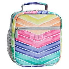 Gear-Up Rainbow Chevron Classic Lunch Bag