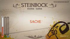 Wochenhoroskop: Steinbock (KW 36 - 2016) - So stehen deine Sterne Kinder Wochen vom 5. - 11.9.2016 #Horoskop #Steinbock #Liebe #Gesundheit #Job