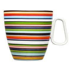 iittala Origo Becher mit Henkel l orange Grey Mugs, White Coffee Mugs, Coffee Mug Sets, Mugs Set, Coffee Cups, Tea Cups, Coffee Lovers, Painted Mugs, Hand Painted Ceramics