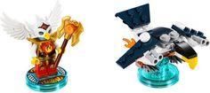 LEGO Dimensions 71232 - Fun Pack: Eris #lego #legodimensions #legocollector #nerd #videogame #legovideogame #legogame  #minifigure #legominifigure #minifig #chima #legendsofchima #eris #legochima
