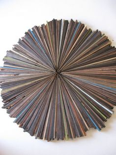Rustic Wood Wall Abstract Art Painting Wood by RusticModernDesigns, $395.00