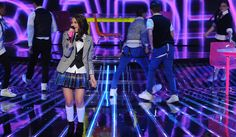"""Carly Rose Sonenclar performing """"Good Feeling"""" on the first X Factor Live Show Carly Rose Sonenclar, Positive People, Flo Rida, Factors, Feel Good, Singers, Teen, Live, Reading"""