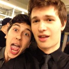 Ansel Elgort and Nat Wolff #TFIOS