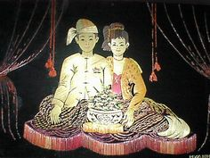 Myanmar Traditional Wedding dress