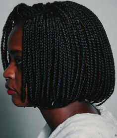 Crochet Box Braids In A Bob : ... Braids on Pinterest Box braids bob, Crochet braids and Box braids