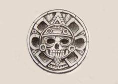 Mayan Tattoos, Mexican Art Tattoos, Celtic Tattoos, Aztec Symbols, Mayan Symbols, Chicano Tattoos, Chicano Art, Aztec Tattoos Sleeve, Aztec Tattoo Designs