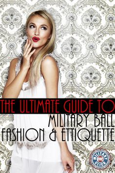 Military ball tips from a milspouse who has been to 6 of them!