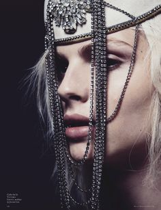 Andrej Pejic | Mariah Jelena | Black Magazine #16 S/S 2012 | My People Were Fair and Had Sky in Their Hair