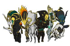 Prime warframes chibi family by MarshallVex on DeviantArt World Of Warcraft Game, Warcraft Legion, Warframe Art, Drawing Games, Video Game Art, Video Games, The Revenant, Anime Comics, Community Art