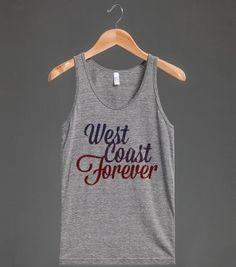 West Coast Forever (Vintage Tank)