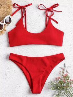 Shop trendy fashion swimwear online, you can get sexy bikinis, swimsuits & bathing suits for women on ZAFUL. Bikini Push Up, Baby Bikini, The Bikini, Sporty Bikini, Floral Bikini, Sporty Swimwear, Retro Swimwear, Summer Swimwear, Swimwear Brands