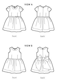 Digital Fairy Tale Dress Sewing Pattern | Sewing Pattern Shop | Oliver + S