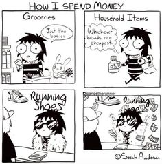 can you relate???? I Hate Running, Love Run, Hungry Runner Girl, Beyond The Scale, Running Memes, New Friends, Household Items, Lol, Comics