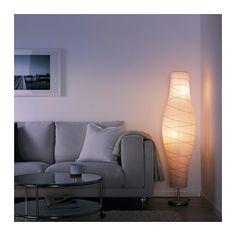 IKEA DUDERÖ floor lamp Gives a soft mood light.