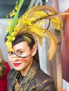 Floral & fabulous: Designer creates unforgettable haute couture hats