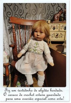 Restoring German papier mache dolls 50s