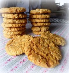 Homemade Hobnobs ... Bigger, Better Buttery Biscuits stogged full of oats!from The English Kitchen