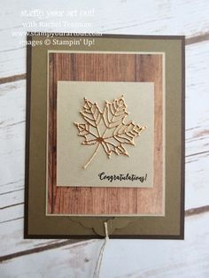 ORDER STAMPIN' UP! ONLINE Providing stamping ideas and inspiration for making handmade cards, scrapbooking and home décor with stampinup paper crafting supplies. How-to video's, tutorials and images. Fancy Fold Cards, Folded Cards, Waterfall Cards, Xmas Theme, Card Making Templates, Leaf Cards, Birthday Card Design, Embossed Cards, Thanksgiving Cards