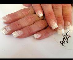 White snow flake sparkle