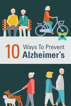 No one knows the exact cause of Alzheimer's, but lifestyle choices have a much greater impact than most people realize. Here are 10 ways to prevent Alzheimer's disease that you can do now. Health And Wellness, Health And Beauty, Health Fitness, Health Tips, Alzheimer's Prevention, Cognitive Problems, Heath And Fitness, Brain Health, Mental Health