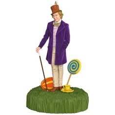 Hallmark Keepsake 2017 Willy Wonka and The Chocolate Factory Sound Christmas Ornament * You can find more details by visiting the image link. (This is an affiliate link) Ornament Storage, Ornament Hooks, Origin Of Christmas, A Christmas Story, Hallmark Christmas, Disney Ornaments, Hallmark Keepsake Ornaments, Baby First Christmas Ornament, Christmas Tree Ornaments