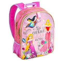 Disney Princess Backpack   Disney Store Perfect for school and adventures galore, our Disney Princess Backpack keeps your little one equipped with essentials and more.