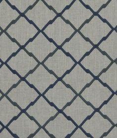 Robert Allen Lyford Navy Fabric