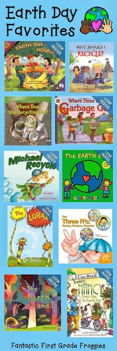 Fantastic First Grade Froggies: Earth Day and Recycling Resources