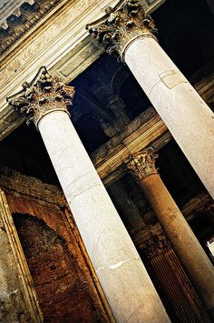 Il Pantheon, Rome, Italy Want to see. Ancient Ruins, Ancient Rome, Ancient Greece, Ancient History, Roman Architecture, Ancient Architecture, Interior Architecture, Rome Travel, Italy Travel