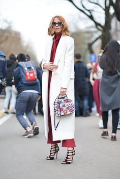 Pin for Later: The Best Street Style Looks From Milan Fashion Week Day 2 Candela Novembre