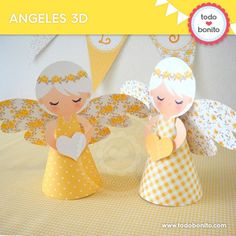 First Communion Decorations, Love Decorations, Baptism Decorations, Christmas Decorations, Diy Home Crafts, Crafts For Kids, Shabby Chic, Baby Dedication, Paper Doilies