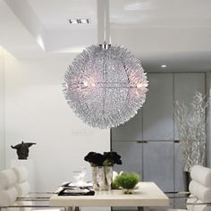 Top Sellers - Modern Chandelier with 5 lights (Aluminum Shade)