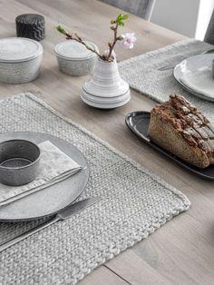 Tischsets selber stricken