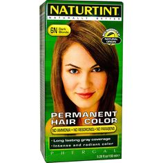 Naturtint, Permanent Hair Color, 6N Dark Blonde, 5.28 fl oz (150 ml) - 2pc * Read more  at the image link.