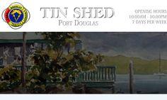 The Tin Shed Restaurant, Port Douglas Australia